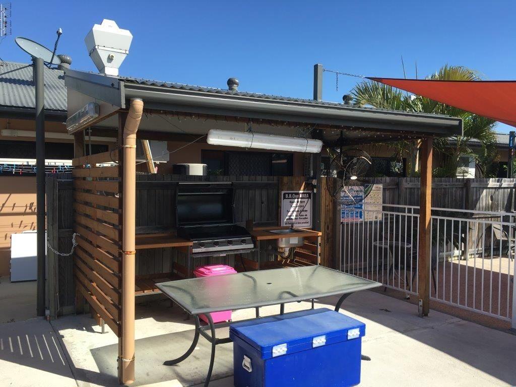 Pool Area BBQ