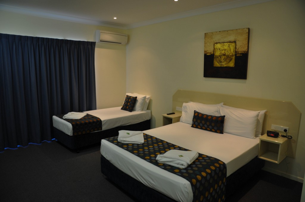 Business class room Bluewater Harbour Motel Bowen