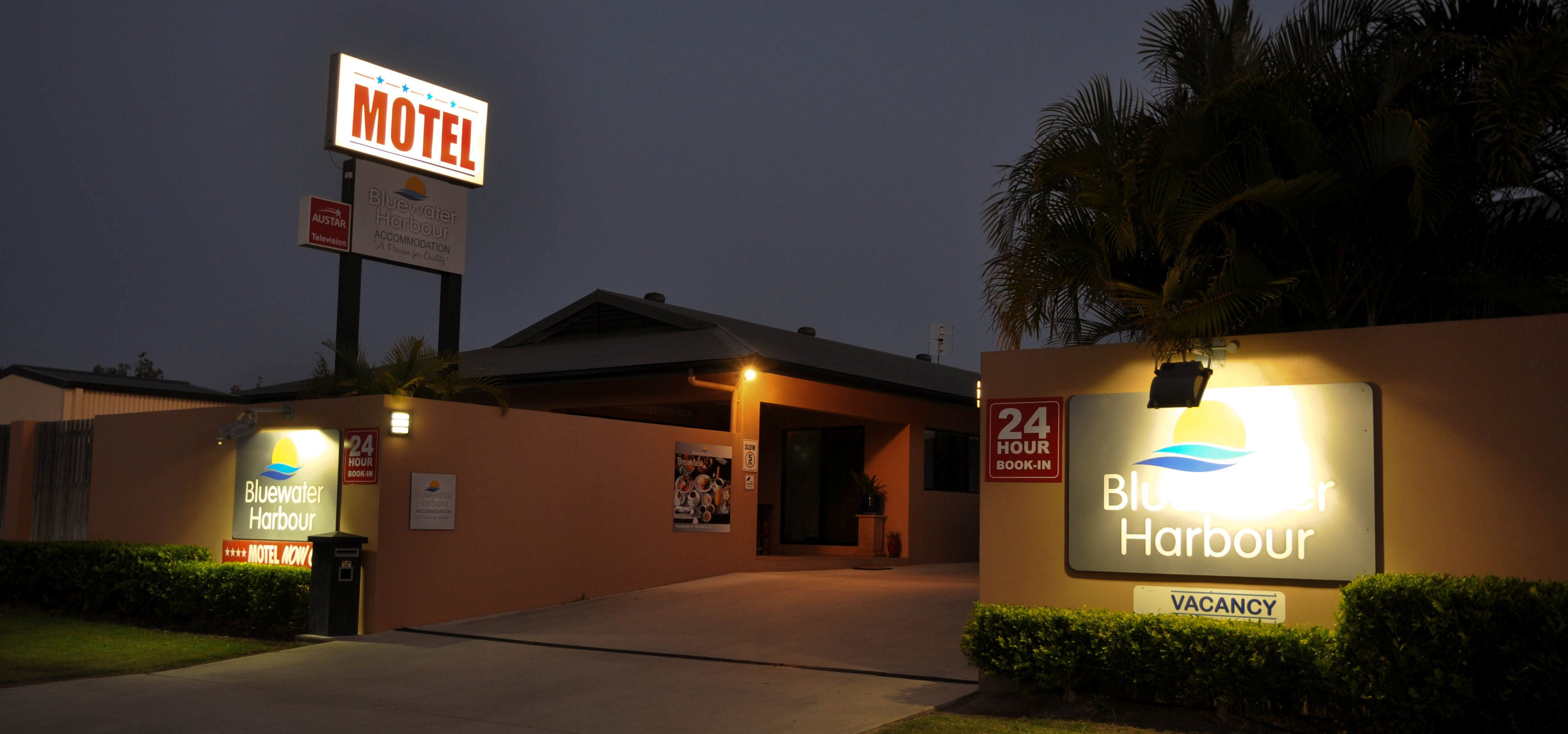 Bluewater Harbour Motel situated in the CBD of Bowen ****