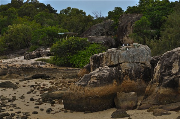 Boulders at Horseshoe Bay